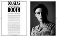 From the outside, Douglas Booth's life appears to - Mattmueller.co.uk