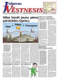 2010.gada 2.decembris Nr.47(181) - Jelgavas Vēstnesis