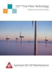 CJC™ Fine Filter Technology for Wind Turbines - Cjc.dk