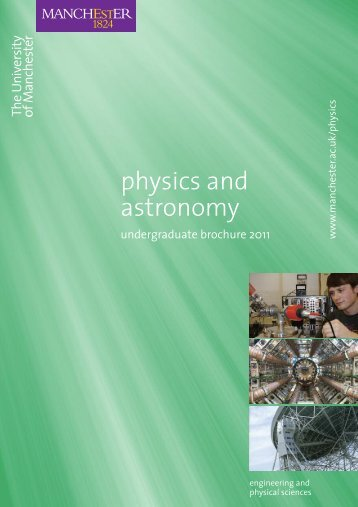 physics and astronomy - School of Physics and Astronomy - The ...