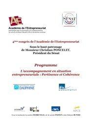 Freins et performances de l'entrepreneuriat dans les entreprises