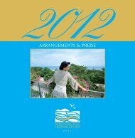 Strandhotel Heringsdorf - Arrangements & Preise 2012