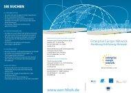 enterprise europe - EEN - Hamburg / Schleswig-Holstein
