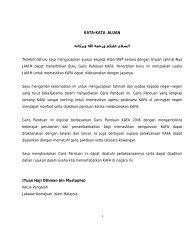 Garis Panduan KAFA - Jabatan Kemajuan Islam Malaysia