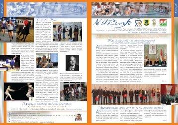 NUPinfo 112. szám - 2012. február - MOB - Nemzeti Sport Intézet