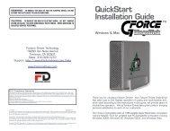 QuickStart Installation Guide - MicroNet