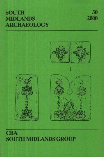 CBA SMA\SMA 2000.PDF - Council for British Archaeology