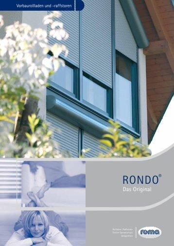 RONDO® - Weru Studio Schwarmann