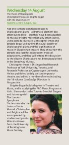 Concerts and Lectures Summer 2013 - University of Buckingham - Page 6