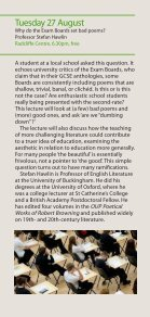 Concerts and Lectures Summer 2013 - University of Buckingham - Page 7
