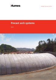 Precast arches brochure - Humes