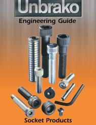 Socket Products Engineering Guide - Industrial and Bearing Supplies
