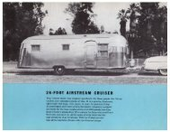 26·FOOT AIRSTREAM CRUISER