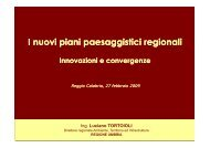 ing. Luciano Tortoioli - Regione Calabria - Dipartimento Urbanistica ...