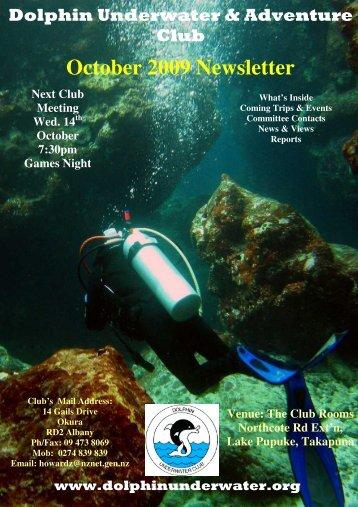 October 2009 Newsletter - DolphinUnderwater.org