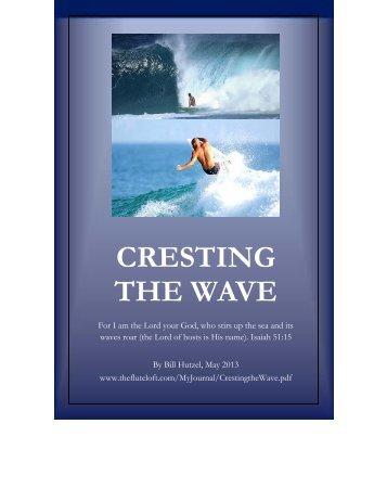CRESTING THE WAVE - The Flute Loft
