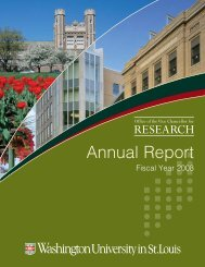 FY08 Annual Report - Office of the Vice Chancellor for Research