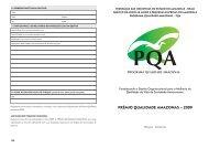 prêmio qualidade amazonas – 2009 - Movimento Brasil Competitivo