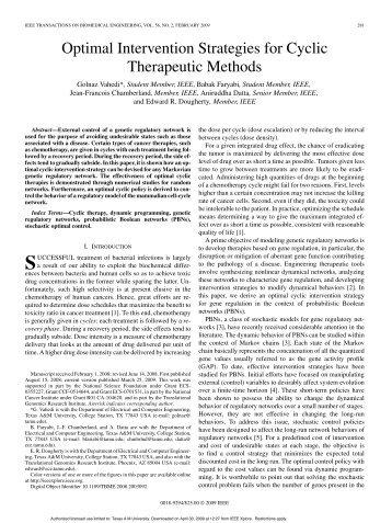 PDF File - Genomic Signal Processing Laboratory - Texas A&M ...