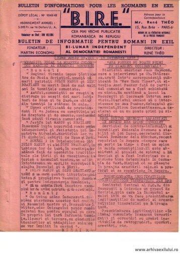 BIRE NR. 211 - arhivaexilului.ro
