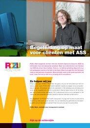 Flyer voor mensen met een autisme spectrum stoornis - Gemeenten