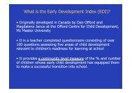 Download presentation by Dr Sally Brinkman - NATSEM