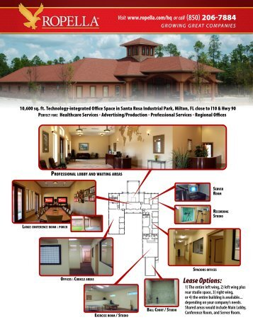 Download the PDF brochure complete with photos, maps ... - Ropella