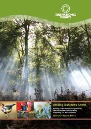 Making Business Sense - The National Forest