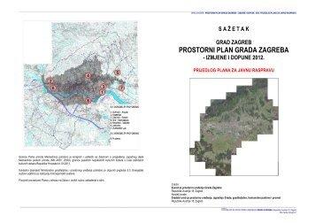 PROSTORNI PLAN GRADA ZAGREBA - Zagreb.hr