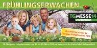 Gestalten Sie mit uns die Thurgauer Frühjahrsmesse 2014!