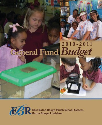 General Fund Budget - Business Operations - East Baton Rouge ...
