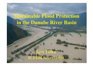 Action Programme on Sustainable Flood ... - Ecologic Events