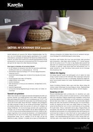 SkötSel av lackeRade golv (hemma bruk) - Bygghemma