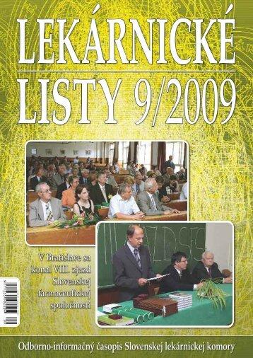 V Bratislave sa konal VIII. zjazd Slovenskej farmaceutickej spoločnosti