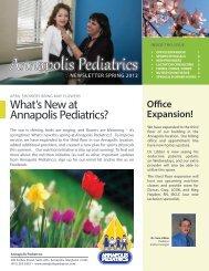 Nutrition Initiative - Annapolis Pediatrics