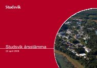 VD-presentation - Studsvik