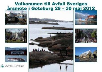 Programmet - Avfall Sverige