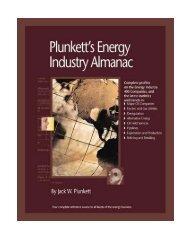 Plunkett's Energy Industry Almanac 2010: Energy Industry ... - pptfun