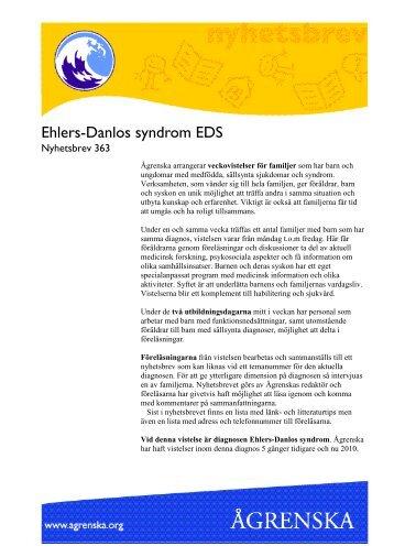 Ehlers-Danlos syndrom - Ågrenska