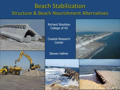 Beach Stabilization - Stockton College