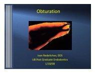 Obturation