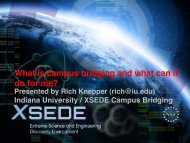 What is campus bridging and what can it do for me? pdf - XSEDE