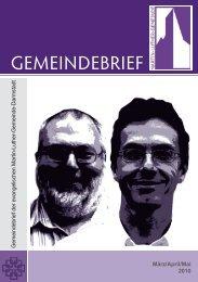 Gemeindebrief Mrz 2010 - Martin-Luther-Gemeinde