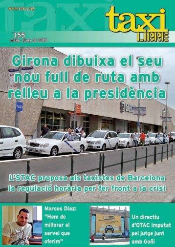 Revista Taxi Libre Nº 155 – MAYO-JUNIO Girona - Stac