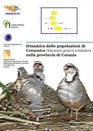 Dinamica delle popolazioni di Coturnice Alectoris graeca whitakeri ...