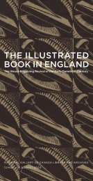 THE ILLUSTRATED BOOK IN ENGLAND - National Gallery of Canada