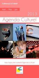 Agenda Culturel - Créteil