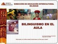 Bilingüismo en el Aula - DEIB - La Educación Básica Regular - EBR