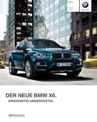 Die Sonderausstattungen (SA) des BMW X6 - BMW Diplomatic Sales