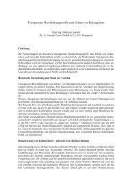 Transparente Beschichtungsstoffe zum Schutz von ... - Conrads Lacke